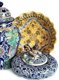 Ceramica Talavera  - México