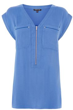 Blue blouse - Warehouse