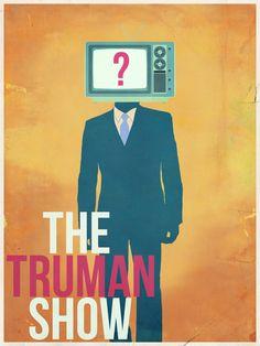 The Truman Show Cool Illustration