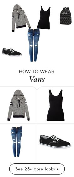 """""""Untitled #1"""" by nadinecamacho-drms on Polyvore featuring Theory and Vans"""