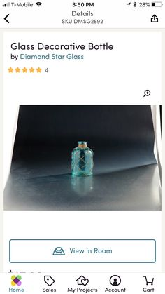 Summer Mantle Decor, Bottle, Glass, Projects, Log Projects, Blue Prints, Drinkware, Flask, Corning Glass