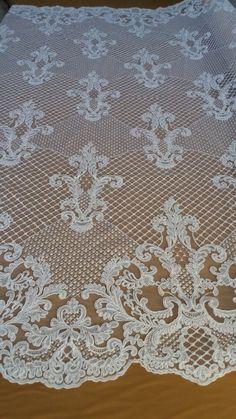 lace bridal lace fabric fashion wedding dress fabric от FabricLace