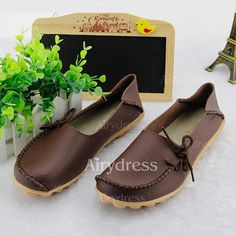 15 Leather Shoes Flat Women's Real Heel Flats 1625211481 Shoes Flats Closed Toe 31 BSqSR