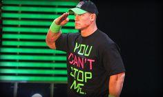 WWE Superstar John Cena On His Way to Providence