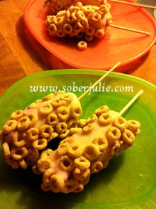 We tried this recipe with the kids and they LOVED it. Perfect summer snack for kids!