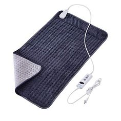 XXX-Large Heating Pad with Auto Off for Back Pain FDA Registered 10 Electric Temperature Settings Super Soft Micro Plush Moist Therapeutic Option Relief for Neck Shoulder by Sable x Portable Heating Pad, Best Heating Pad, Heating Pads, Newport Blue, Moist Heat, Dry Heat, Back Pain Relief, Sore Muscles, Cool Things To Buy