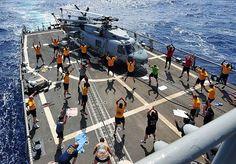 Fitness at sea