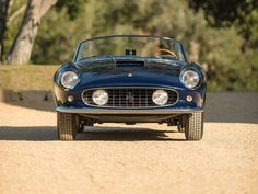 If you're feeling blue, this Ferrari 250 GT LWB is your cure