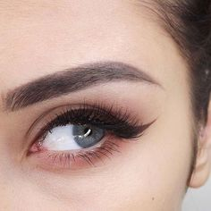 beautiful brows and winged liner