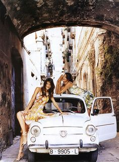 The trips to Italy. Go with your best friends.