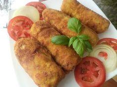 Roladki schabowe z pysznym farszem Polish Recipes, Polish Food, Pork Roast, Tandoori Chicken, Chicken Wings, Baked Potato, Sausage, Recipies, Good Food