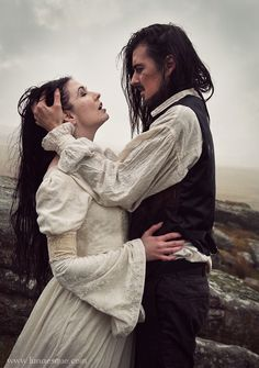 Lunaesque Creative Fantasy Photography  Wuthering Heights, Classic Books, Lovers, Romantic