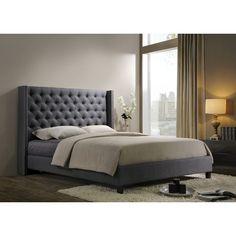 Altos Home Pacifica Upholstered Platform Bed