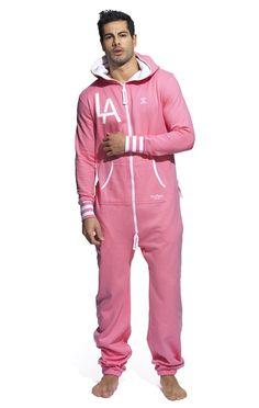 6ac8c571ba6  OnePiece LA College Onesie Pink One Piece Dress
