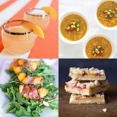 the best peach recipes for the summer // twin stripe