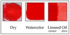 Cadmium Red Light: