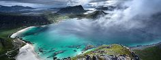 Visit by summer or winter. Discover Lofoten and Hattvika at its' best by boat, sea kayak, foot, skis or mountain trips. The adventure starts in Hattvika!