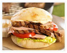 Cuban grilled pork sandwich recipe