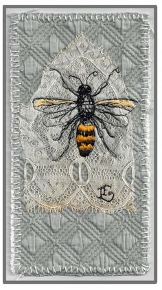 Lauren Evatt Finley - Yellow Jacket in Gothic Lace