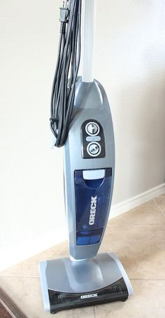 It's a full-powered bagless vacuum and steam mop that is portable, lightweight, and incredibly easy to use.