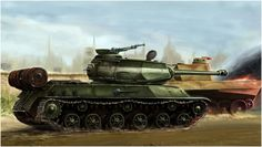 heavy tank IS-2m / czołg ciężki IS-2m