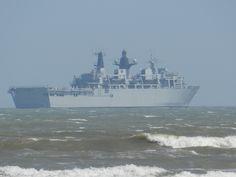 Royal Navy Fleet Flagship (HMS Bulwark) pays a visit to Weymouth Bay. Weymouth Bay, Weymouth Dorset, British Things, Naval History, Navy Ships, Great British, Royal Navy, Battleship, Portland