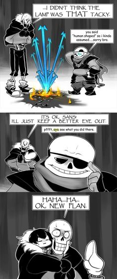 UnderSwapped by peachiekeenie on DeviantArt. So Sans is swapped with . . . Undyne? Heh, interesting