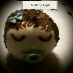 Sleeping  baby  candy apple