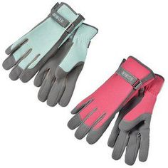 Keep hands well protected when carrying out innumerable garden tasks with these stunning powder blue and raspberry Sophie Conran Gloves, with palm & fingers made from tough, hardwearing and ultra soft fabric that doesn't go stiff when wet.