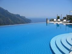 Infinity Pool at Ravello Italy