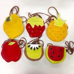 Fruit leather purses fresh from California.  #raineandskye #stadtlandkind #leatherpurse #fruitpurse #madeincalifornia