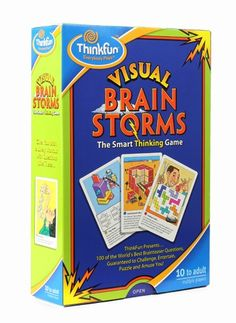 Visual Brainstorms are an exciting way to exercise your logic, spatial reasoning and sequential thinking skills.   $14.99