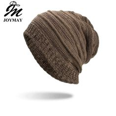 17f7442d2d New True Letter Winter Hat Long Size Knitted Cap High Quality Casual ...