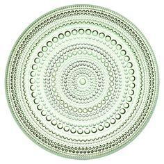 ittala Small Kastehelmi Plate in Apple Green at Joss & Main