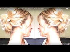 Beautiful hairstyles - Wedding Hair Chignon - Best hairstyles - http://ezbeautytips.com/1/beautiful-hairstyles-wedding-hair-chignon-best-hairstyles/   Beautiful hairstyles with wedding hair chignon this is a best hairstyles. Subcribe my channel: https://www.youtube.com/channel/UC7GJP781VOkYR9KNYbDVyDg?sub_confirmation=1 My channel has many beautiful hairstyle for women. Come with my channel, you will find your best hairstyles you want and make it. A hairstyle, hairdo, or hai