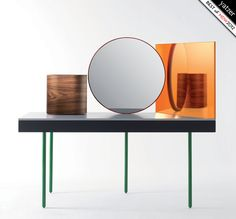 Chandlo dressing table by Doshi Levien for BD Barcelona Design