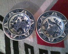 delft vintage plates