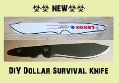 How To Make A Dollar Survival Knife