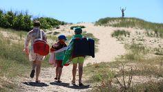 Accès direct à la plage à 200 mètres - Yelloh Village La Pomme de Pin **** - Saint Hilaire de Riez (Vendée)
