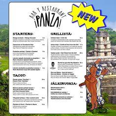 Uuuusi menu! Viikonloppu! On kaikkee. #panzakpo