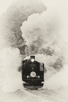 When The Night Circus appeared in Japan the train looked like a Steam Locomotive of Japan.