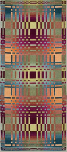 """Nancy Middlebrook double weave. Repinned by Libby VanBuskirk on """"Weaving & Fiber Arts: my Favorites."""" Another remarkably creative use of double weave."""