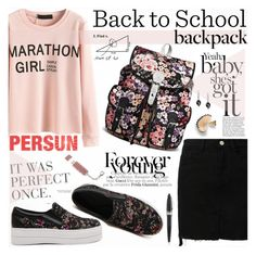 """""""Back to School: New Backpack"""" by katjuncica ❤ liked on Polyvore featuring Gucci, Pineider and BackToSchool"""