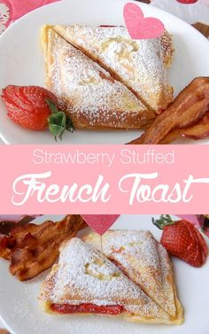 strawberry stuffed french toast a yummy way to start your day | http://NoBiggie.net