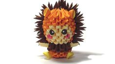 3D+origami+lion+kid+by+Girnelis+on+Etsy,+$4.00