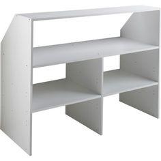 best Leroy Merlin Dressing Kit - Ikea DIY - The best IKEA hacks all in one place Furniture, Slanted Ceiling Bedroom, Loft Storage, Alcove Storage, Pine Bedroom Furniture, Wall Closet, Bedroom Makeover, Ceiling Shelves, Master Bedroom Makeover