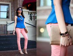 love the color combination and the peplum top
