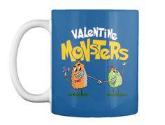 Valentine Monsters!Best Selling Tee 2017 Dk Royal Mug Front