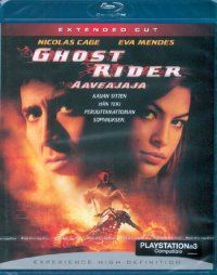 Ghost Rider - Extended Cut (Blu-ray) 5,95€