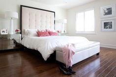 Master bedroom feminine decor